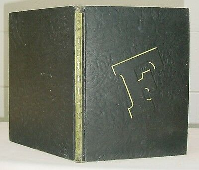 The 1947 Forester Yearbook   Forest Avenue High School   Dallas  Texas