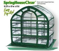 plant house, greenhouse 6.5'(H) x 6.0'(W) x 6.0'(D)