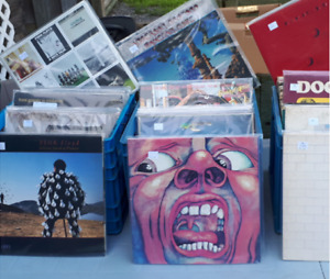 Visit 'New in the Bins' at the Kingston Record Show