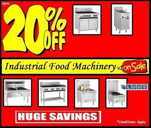 15% OFF CATERING EQUIPMENT LUUS END OF YEAR FINANCIAL CLEARANCE Campbellfield Hume Area Preview