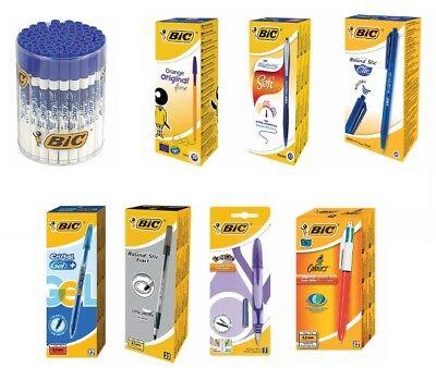 BIC Ballpoint Pens/Penholders/Pens 9 Types Choose The