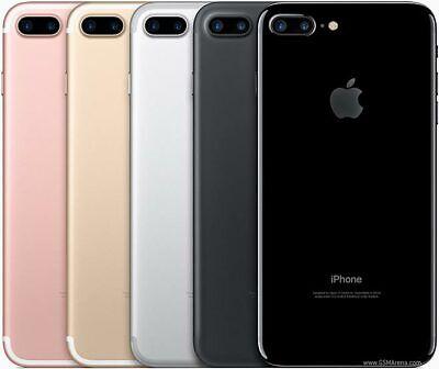 Apple i phone 7 Plus 32 GB-128 GB Unlocked Smart phones Black -Silver -Gold-Rose