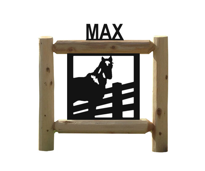 HORSE SIGN - EQUESTRIAN GIFTS - RODEO - SADDLES