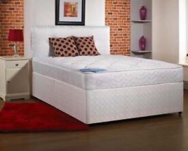 Brand new orthopedic bed and mattress
