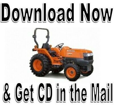 Kubota B2301 B2601 Tractor Workshop Service Operators Manual
