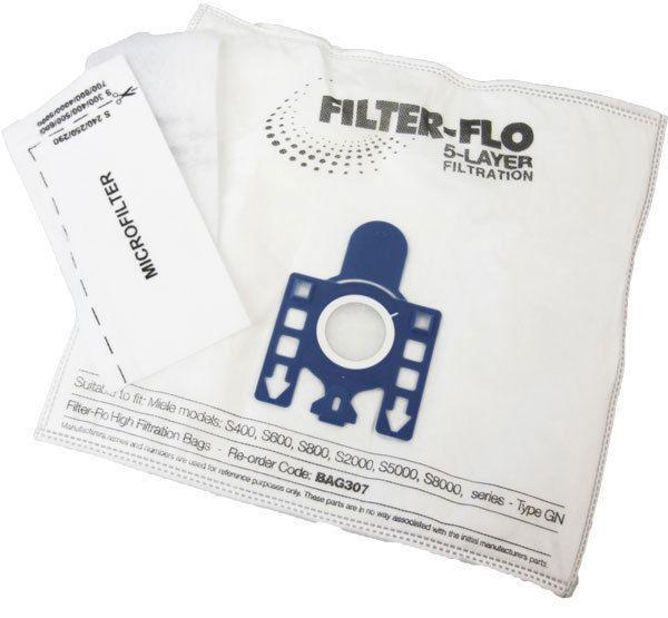 12 Staubbeutel Für Miele GN HyClean 3D Efficiency Staubsaugerbeutel 4 Filters