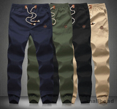 Mens-New-Joggers-Sweat-Pants-Jogging-Tracksuit-Bottoms-Casual-Slim-Trousers