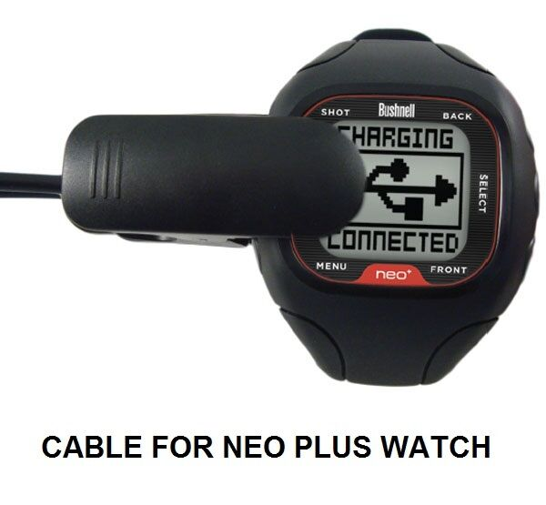 CHARGING CABLE FOR BUSHNELL NEO + PLUS WATCH GPS RANGEFINDER