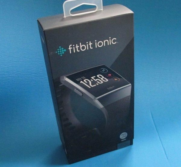 Fitbit Ionic Smartwatch Charcoal/smoke gray FB503GYBK