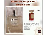 Roja dove amber oud 50 ml only £25