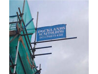 Docklands scaffolding London and surrounding areas