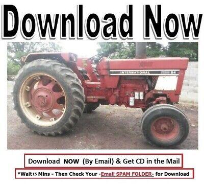 International Harvester Hydro 84 Tractor Technical Service Repair Manual Ih