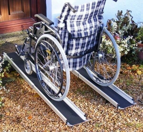 WHEEL CHAIR RAMPS: Disability Access, Extendable Brand New Never Used