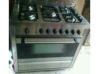Range Cooker Stainless Steel