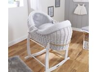 MOSES BASKET & STAND £50