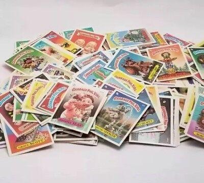 Lot Of 50 Original Garbage Pail Kids Cards Series 2-15 ! VHTF + Free Error (Garbage Pail Kids Cards)