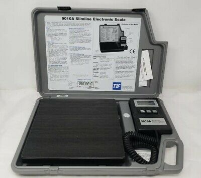 Slim Line Electronic Refrigerant Scale 9010a