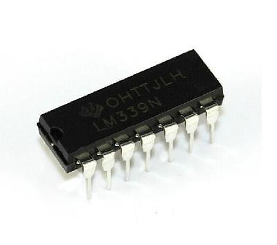 20PCS IC LM339 LM339N DIP LOW POWER Quad Voltage Comparator NEW  on Rummage