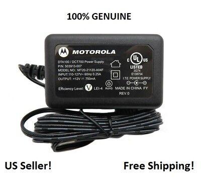 OEM Genuine MOTOROLA Adapter Power Supply for Sb6141 Sb6121 Sbg6580 Cable