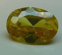 Aaa Ca. 1,19 Ct 7,00x5,00 Mm Ovale Cz / Golden Giallo 07/ Cz / Aaa -  - ebay.it