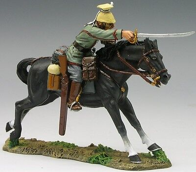 KING & COUNTRY FIRST WAR FW035 WW1 GERMAN UHLAN OFFICER CHARGING WITH SWORD MIB
