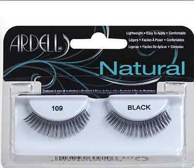 (LOT OF 72) Ardell Natural #109 False Fake Eyelashes Fashion Lashes Black Short