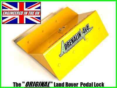 LAND ROVER DEFENDER SECURITY PEDAL LOCK TD5 1998 ONWARDS