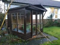SUMMER HOUSE - BY SMYLIE SHEDS 8FT BY 7 FT