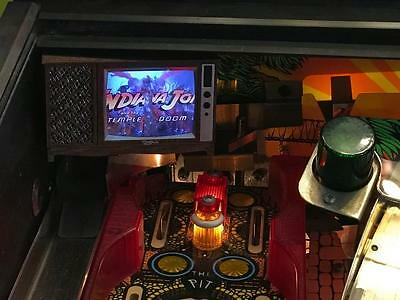 Indiana Jones Pinball mod - TV with VIDEO and SOUND!
