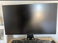 """DELL Alienware AW2521HFL (25"""") LED IPS Gaming Monitor Full HD 240 Hz 1ms Rrp£300"""