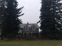 House on Acreage to share