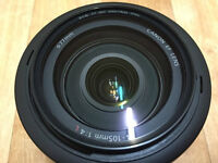 New condition: Canon 24-105 f4 IS