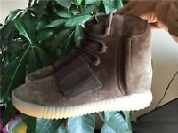 New Adidas yeezy 750 boost brown glow in the dark TOP QUALITY