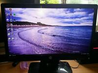 "22in lcd computer monitor ""sold pending collection"""