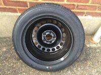 "VW Passat 16"" Spare Wheel - 215 55 ZR 16 Bridgestone Turanza Tyre 7mm"