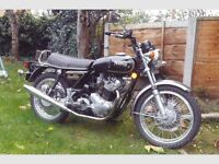 BSA NORTON YAMAHA project wanted any thing considered