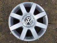 "Genuine VW Golf GT TDI 140 16"" Sport Alloy Wheel fits Golf Plus Touran"