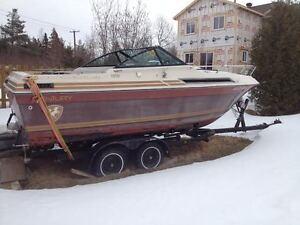 remorque pour bateau 25 pieds