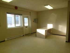 Lease - 1800+ sq. ft. Office Space w/Bay in Tumbler Ridge, BC