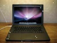 "2Ghz 13"" Black Apple MacBook 2gb 250GB Logic Pro 9 Final Cut Pro X Ableton 9 Microsoft Office 2011"