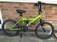 "18"" Avigo Recon Green BMX Bike - Boys / Kids / Childrens"