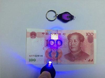 Micro Light-LED Keychain Flashlight SUPER BRIGHT- Photon Emitting LED NEW