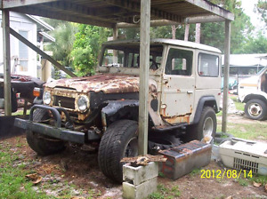 Wanted Toyota FJ 40 or 45