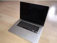 """MacBook Pro Retina 15.4"""" 256GB SSD 16GB Ram 2.2GHz Intel Core i7 (Mid 2014)"""