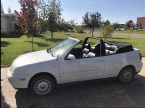 VW cabrio convertible