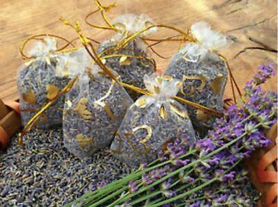 Lavendel  Duftsäckchen Gastgeschenk give away Mottenschutz Golddekor