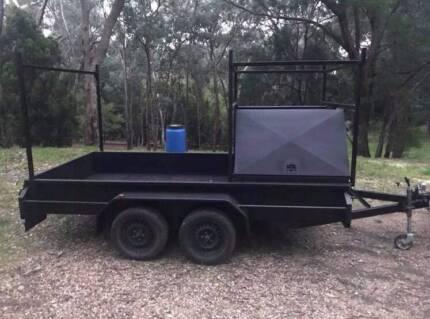 Tandem trailer 12x6