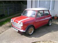 1987 Austin Mini 1000 City E- 12months MOT. Low Mileage + extra items included