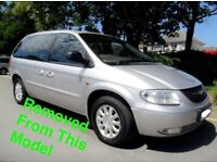 CHRYSLER VOYAGER 2.5 CRD 2005 SILVER BREAKING FOR ALL PARTS
