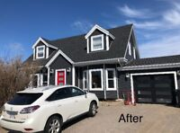 Siding and fence repairs